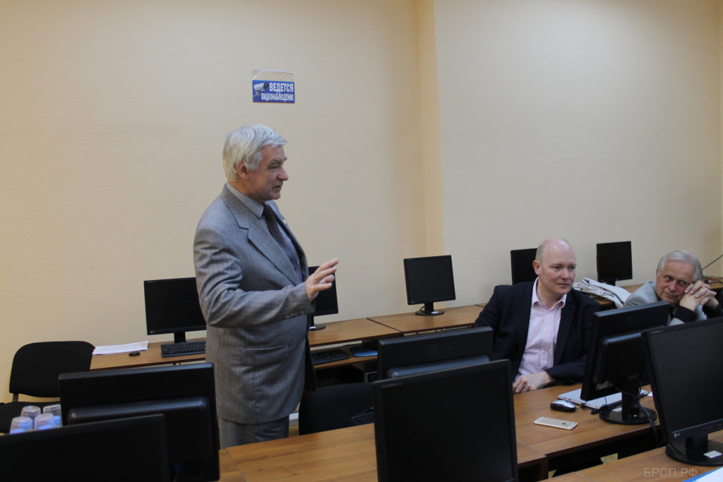 Выступление д.т.н., профессора, Почетного работника высшего профессионального образования, Академика РАЕН А. И. Мохова.