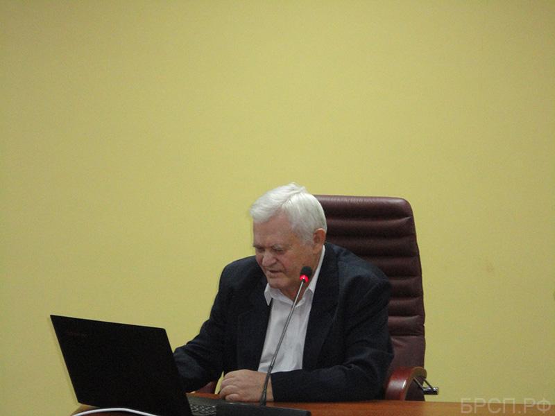 Докладчик д.т.н., профессор, действительный член РАЕН Ерешко Феликс Иванович.